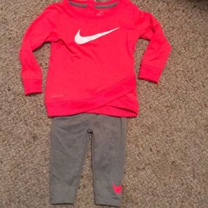 12 month girls Nike outfit